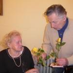 nejstarší, 90letá občanka obce