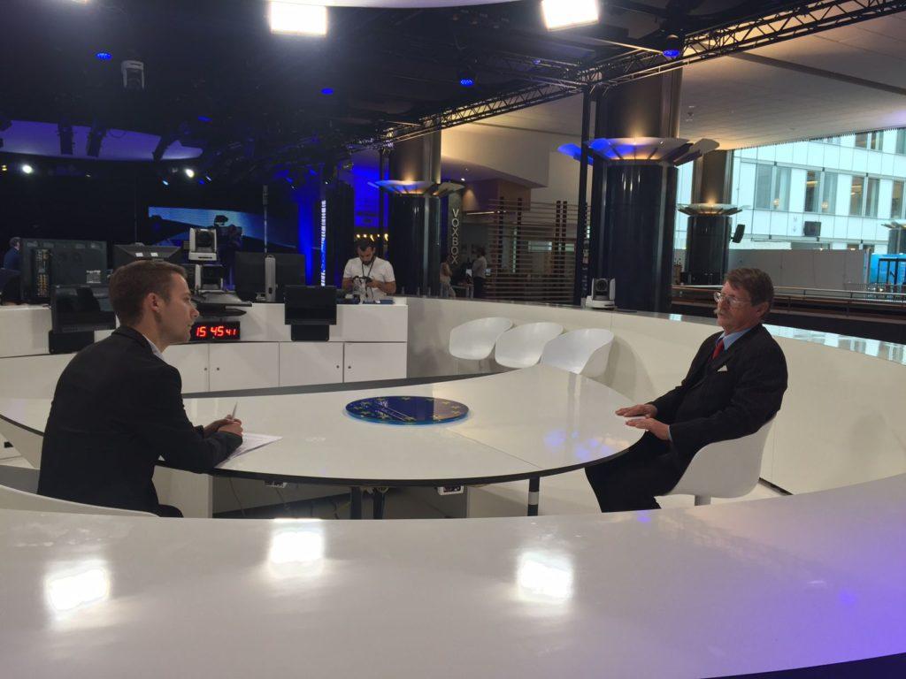 interview Ing. Jaromíra Kohlíčka, CSc. pro TV Blesk