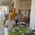 snídaně v penzionu Anka
