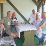 setkání s majitelem penzionu Jožou Košútem