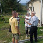 na návštěvě u předsedy OV KSS