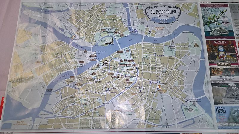 MAPA ST.PETERBURG