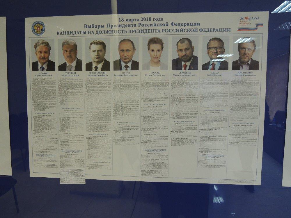 Leták s kandidáty