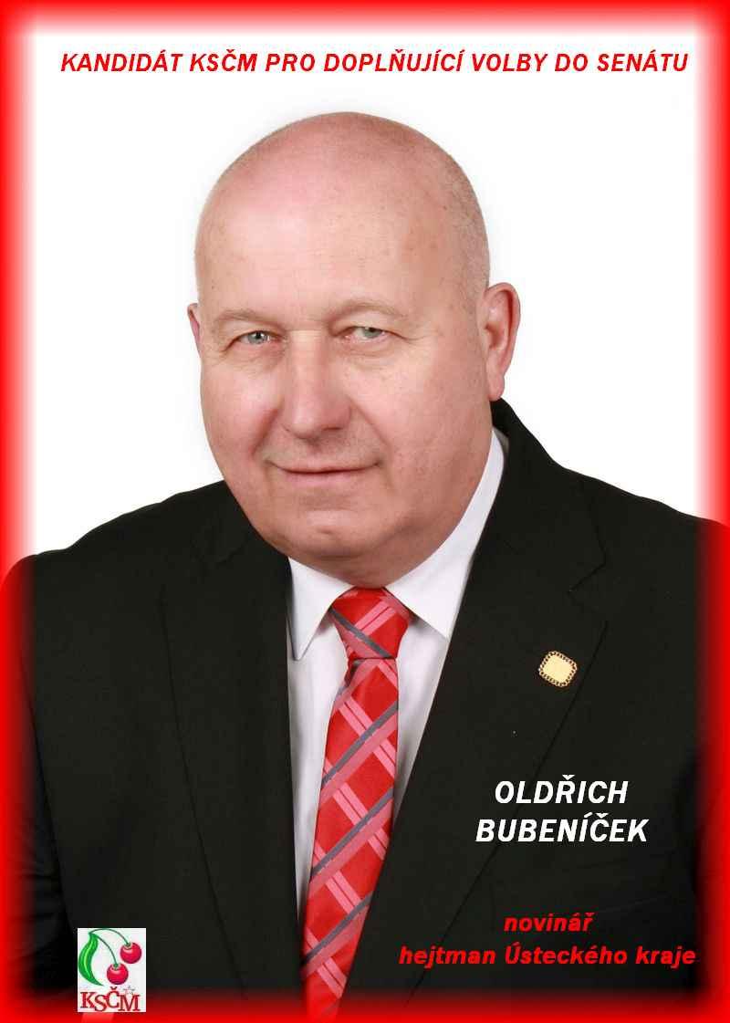 kandidát Oldřich Bubeníček